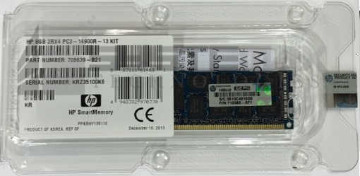 8GB HP DDR3 PC3-14900R SmartMemory